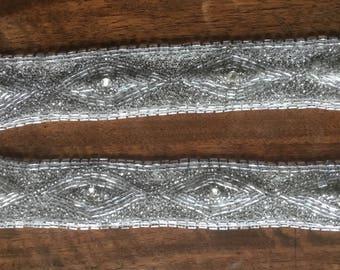 Collar. Rare antique parts of a collar or application. Vintage Collar col ancien