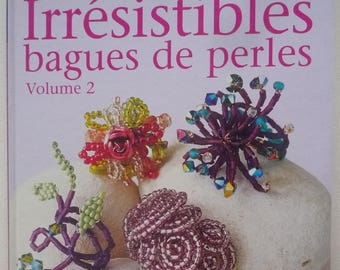 """For jewelry making book """"irresistible rings of pearls."""