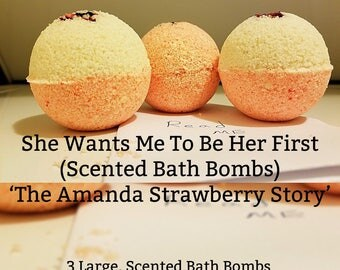 Secrets In A Box: Scented Bath Bombs 'The Amanda Strawberry Story' (Erotica Stories)