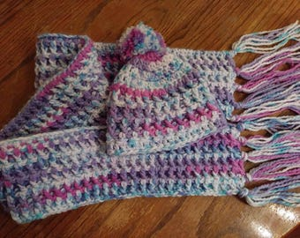 Toddler Scarf and Hat Set