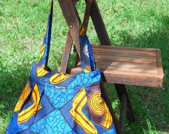 wax (African fabric) 11007 tote bag