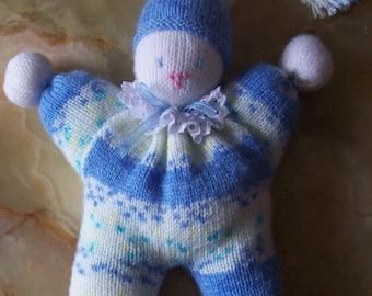 Soft Blue Pixie