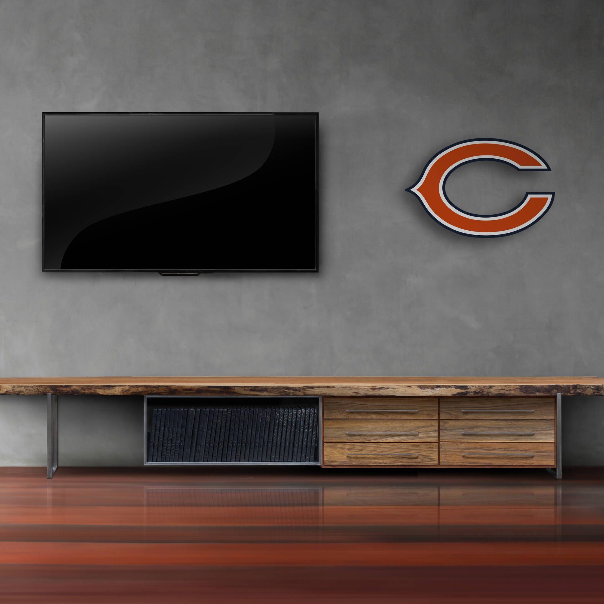 Chicago Bears Decor|Wall Decor|Boy Room Decor|Boy Football Decor|Teen