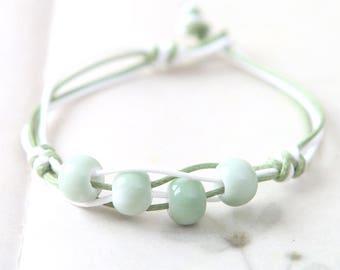 Beaded bracelet, ceramic bracelet