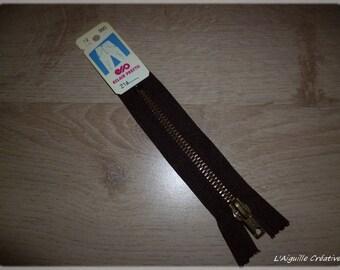 Zipper Chocolat 12 cm