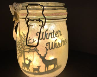 Winter Wishes Lantern