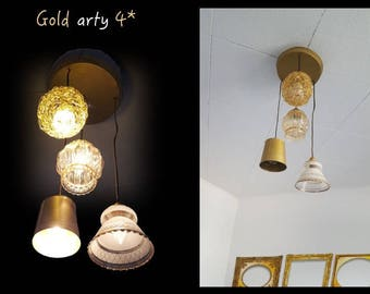 Design lamp Gold Arty 4 * By Lisa
