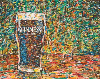 Guinness Draft - Beer - Art Print