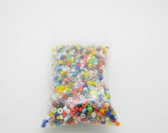 set seed bead mix multicolor 25gr (l800)