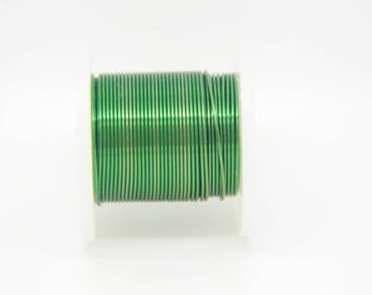 0.25 mm (l430) Green copper wire coil