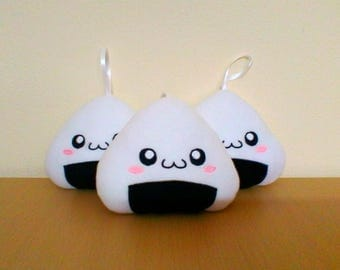 Kawaii Onigiri plush hanging Plush