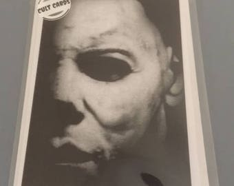 Michael Myers Greeting Card      (Personalise It)