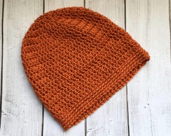 Slouchy beanie/ crochet hat/ women's hats/ gifts for her