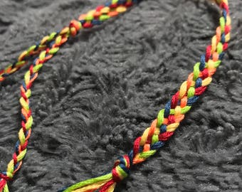 Rainbow Braided Anket