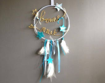 "Dream catcher ""Goodnight"" or other text"