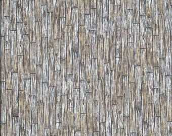 Fabric coupon patch slats floor