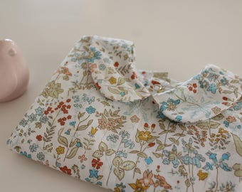 Floral baby blouse