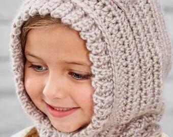 Crocheted Bear Hood