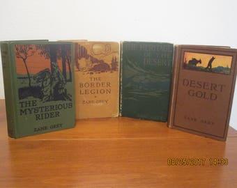 zane grey, westerns, cowboys, books