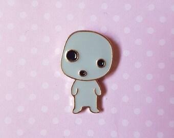 Princess Mononoke Kodama Forest Spirit Enamel Pin