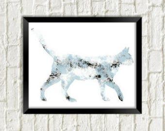 Alley Cat ~ 8 x 10 Wall Art
