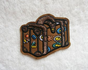 Bag Iron On Patch Wanderlust Embroidered Applique Jeans Patches For Jackets