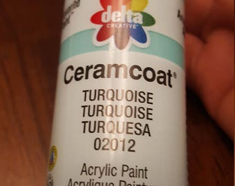 1 acrylic paint 2 oz any color