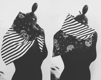Bi-motifs skull scarf