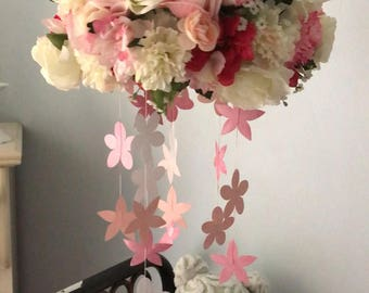 Floral Baby Mobile