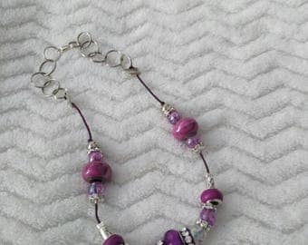 Necklace with murano