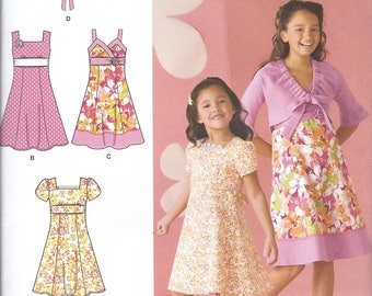 2683 Simplicity  Girls Sewing Pattern for Dress and Jacket