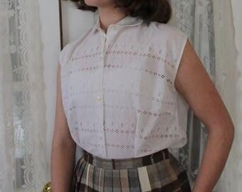 Summer in 1950 - Vintage blouse
