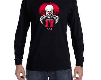 IT Stephen King Movie Long Sleeve T-shirt