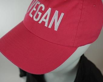 Vegan Baseball Cap