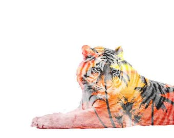 Double Exposure Tiger