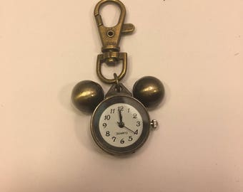 Mickey Mouse clock Keychain