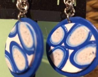 Happy blue earrings