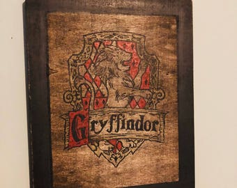 Harry Potter Gryffindor Inspired Wall Decor