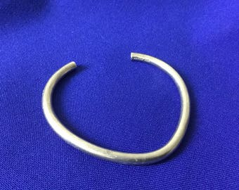 Vintage Sterling Mexico Cuff Bracelet  -21.5g