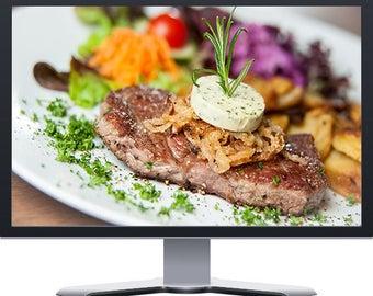 Steakhouse Restaurant Boutique Website Design WordPress
