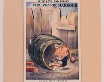 Funny Postcard + Photos from Victor Harbor