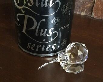 Vintage Toneva Crystal Kiwi Bird