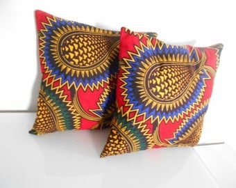 Duo cushion covers and cushions 30 x 30 in price drop in wax