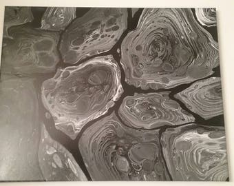 Black & White Swirl