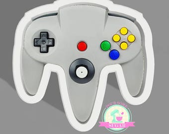 Game Controller 64 Cookie Cutter