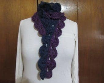 Indigo Waves Scarf