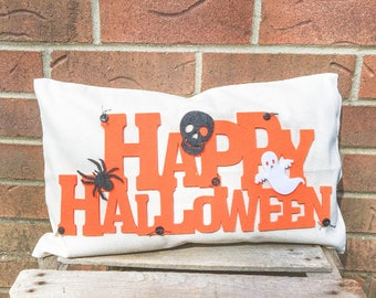 Happy Halloween Pillow FREE SHIPPING
