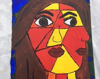 Pablo Picasso Self Portrait Cubism