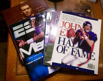 John Elway Demver Broncos Super Bowl Champions Magazines Book and Program (5)