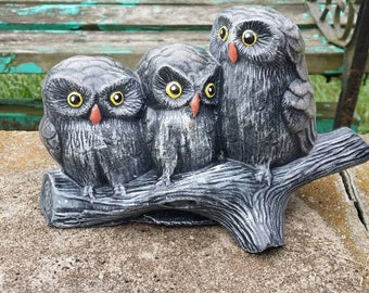 Owls solid concrete